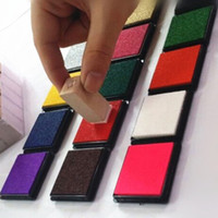 Wholesale 12 Colors Durable DIY Craft Oil Based Ink Pad Print For Stamps Rubber Paper Wood