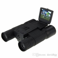 Wholesale New Cool Professional FS308 MP CMOS x Zoom HD x720P With inch LCD Screen Telescope Binoculars Digital Camera