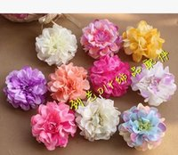 arificial flowers - arificial flower Cola silk flower diy Hat Flower Photography prop headdress flower decoration CM