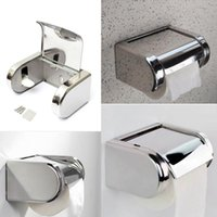 low price toilet paper - New Arrvial Stainless Steel Bathroom Roll Toilet Paper Holder Tissue Bar Box Wall Mounted Lowest Price
