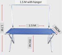 Wholesale Foldable and Portable Product Stand for Retailers Street Vendors Night Market Stall Racks Zinc Alloy Stand for Outdoors Party and Picnic