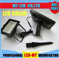 Wholesale supply Solar Led Flood Lights Leds floodlight Outdoor Projecting Landscape Garden Lawn Lamp Solar Power Wall lamps