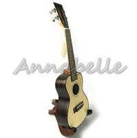 Wholesale Vintage Handle Concert Ukulele inch Hawaii Small Travel Guitar Uke four Strings Solid Top Spruce Rosewood