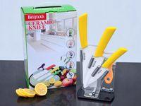 bestlead ceramic knife - BESTLEAD Five piece high quality ceramic knife kitchen knife inch inch fruit knife peeler Knife Block