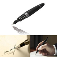 Wholesale Best Promotion Jinhao Black And Silver M Nib Fountain Pen Thick For Gifts Decorations Office Study Student Teachers Using order lt no tr