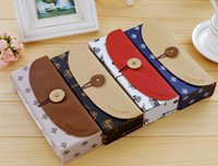 Wholesale Children s stationery F32 New sweet france paper pencil case paper Pencil box for girls boys stationery dandys
