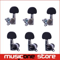 Wholesale 3R3L Chrome Guitar String Tuning Pegs Key Tuners Machine Heads for Acoustic Electric Folk Guitar Parts MU0220