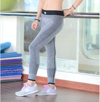 yoga - 2015 New Arrival Women Yoga Sports Pants High Elasticity Fitness Thin Outdoor Running Tight Trousers Quick Drying