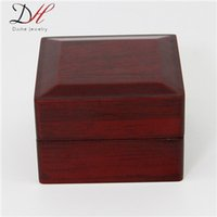 wooden jewelry box - Popular High end Chinese Style Vintage Wooden Jewelry Box Small Fragrant Ring Boxes On Sale