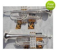 Wholesale the trumpet Vincent Bach LT S gold and silver double color the trumpet