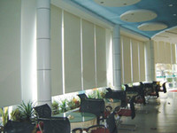 automatic vertical blinds - electric rolling blinds automatic roller blinds blackout or sunscreen fabric roller blinds
