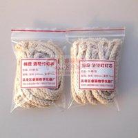 Wholesale pc Pure Cotton alcohol lamp wick cm cotton wicks Chemical laboratory supplies