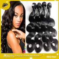 brazilian body wave hair - Brazilian Body Wave Hair Weaves A Best Quality Virgin Human Hair Extensions Peruvian Malaysian Indian Cambodian Brazilian Human Hair Weaves