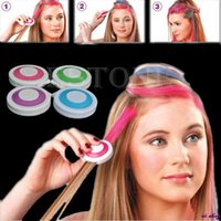 Wholesale Hot set Hair Chalk Powder Fashion Christmas DIY Temporary Wash Out