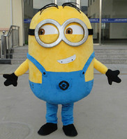 Wholesale 2015 new Despicable me minion Costume mascot fancy Cartoon costume esgv6yb6