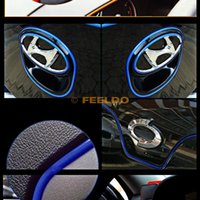 Wholesale 5 meters DIY car auto decoration dream modelling adornment blue line line and beautiful atmosphere easy installation quality guaranteed
