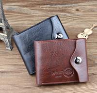 Wholesale 2016 New Leather Men s Wallet Multifunctional Short Design Wallet Zipper Coin Purse Card Holder
