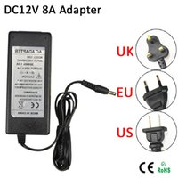 Wholesale DC12V A lighting Transformer Charger V V AC DC Adapter Converter Switch Power Supply for LED Strip Driver EU US UK Plug