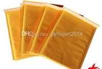 Wholesale Golden Kraft Bubble Mailers Padded Envelopes Air Bags inch mm