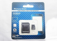 Wholesale 50pcs DHL Class GB Micro SD TF Memory Card Class With Adapter GB Class TF Memory Cards with Free SD Adapter Retail Package