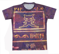 ancient mew - 2015 New Fashion Ancient Mew Women Men T shirt Unisex Tee Couples T shirt D All Over Print Short Sleeve Tops Casual Shirt