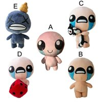 Wholesale 35CM The Binding of Isaac Rebirth Game Character Isaac Plush Toys Stuffed Doll