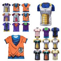 active z - Dragon Ball Z Anime Japan T Shirt D Goku Super Saiyan DBZ Vegeta New