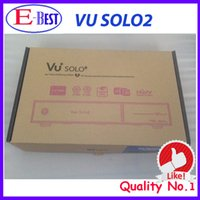 Cheap DHL Free Shipping sunray VU Solo 2 original Linux OS HD Satellite tv Receiver Twin DVB-S2 Tuner 1300 MHz CPU VU SOLO2 at stock