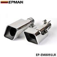 Wholesale EPMAN Chrome Stainless Steel Exhaust Muffler Tip For Land Rover Range Rover gasoline sport EP EM8091LR