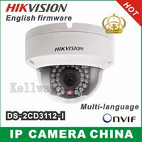Cheap HIKVISION 3.0Mp 1080P Full HD ONVIF Outdoor Waterproof Mini Dome Security CCTV IR Network IP Camera,Support PoE DS-2CD3132-I