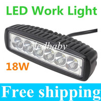 Wholesale 1550LM Mini Inch W x W CREE LED Bar work Light as Worklight Flood Light Spot Light for Boating Hunting Fishing