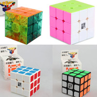 Wholesale 2016 YJ YONGJUN MOYU YULONG Magic Cubes x3x3 mm black Professional Competition puzzle cube