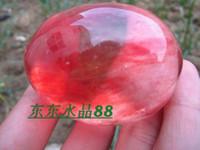 aluminum egg - Natural red crystal nunatak egg decoration amethyst stone g g