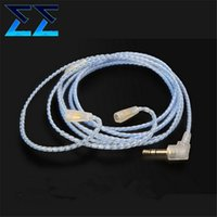 audo cable - New High Quality Handmade Custom OCC Silver Plated Upgrade Audo Cable For IE80 IE8i IE8