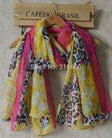 women muslim scarf - 2014 fashion women summer spring scarf Flower print floral hijab leopard scarf bandana muslim hijab head scarf women scarves