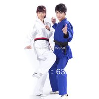 judo - High Quality Kimono Jiu Jitsu100 Cotton Judo Gi Bjj Gi International Standard Martial Arts Uniform Present a Belt