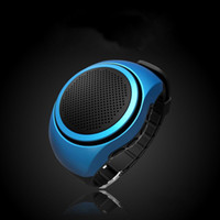 Wholesale B20 Bluetooth movement Music watch Portable Mini Watch Bluetooth EDR Sport Speaker TF Card FM Audio Radio Speakers