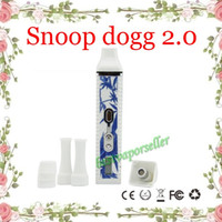 blue and white vapor pens - Snoop Dogg V2 Dry Herb Vaporizer Kit mah Temp Control TC Herbal Vaporizer Pen VS Vapor Titan bestvaporseller