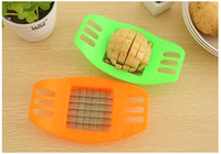 best fried potatoes - Best price Stainless Steel Vegetable Potato Slicer Cutter Chopper Chips Making Tool Potato Cutting Device Fries Tool