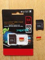 Cheap 16GB 32GB 64GB 128GB Class10 Pro PLUS Micro SD TF Card MicroSDXC UHS-1 HD Video SD Memory Card for Samsung Galaxy Phones 30 pcs DHL Free