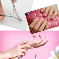 Wholesale Stainless Steel Nippers Clipper Tool Nail Art Cuticle Manicure Care Cutter C hv3