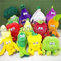 best fruit month - High quality Tcc doll Goodness Gang SUPER FOODZ Stuffed animal Dolls Vegetable Fruit Series Plush toy to kid best christmas gift