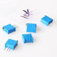 Wholesale 60pcs value W Potentiometer Assorted Kit Variable Resistor ohm