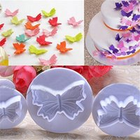 animal decorated cupcakes - DIY D cute Animal Plastic Fondant Decorating Tools Butterfly Cake Mold Cookie Cutter Cupcake Decoration Set