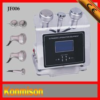 Wholesale ultrasonic liposuction cavitation slimming machine with KhZ Ultrasonic Probe Body RF Probe Facial RF Probe Oriented BIO infrared plate