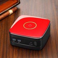 Wholesale Portable Pocket Mini PC Desktop Computer Host Touch Sensor Switch Intel I3 U Dual Cores MSSD SATA in HD Support WiFi DHL C2211