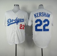angeles dodgers - Clayton Kershaw White Home Jersey Cheap Baseball Jerseys Los Angeles Dodgers Authentic Cool base Wear Jerseys