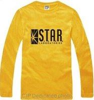 american laboratory - Black Star Labs Laboratories TV Series American Long Sleeve Camisa Multi Sizes Star Laboratories Black Star Labs Best Quality