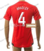 Wholesale thai quality customized new season men bradley soccer jerseys shirts discount cheap athletic outdoor giovinco soccer wear tops