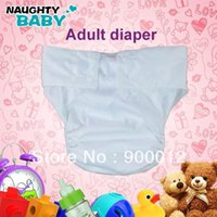 adult diaper snaps - Colors Waterproof Adult cloth diaper Nappy nappies double snaps diapers sets nappy pc insert